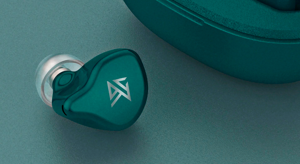 KZ S1 S1D Green Earphones