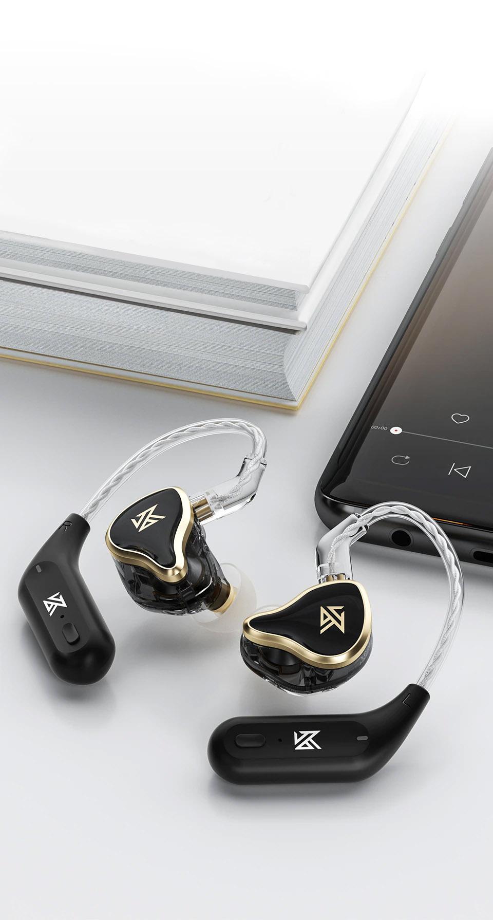 KZ ZAS with KZ AZ09 BT Ear hook