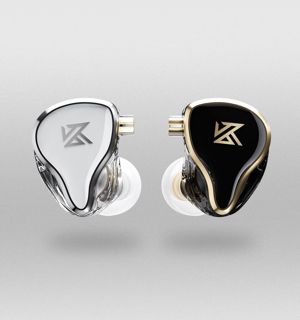 KZ ZAS White and KZ ZAS Black