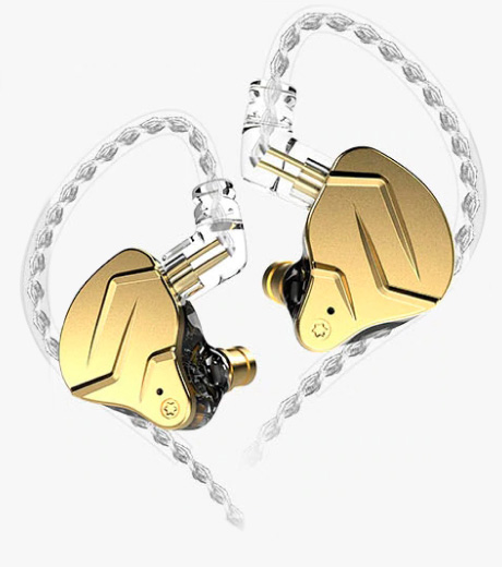 KZ ZSN PRO X Earphones Gold No Mic