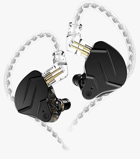 KZ ZSN PRO X Earphones Black No Mic
